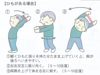 体のバランス調整2