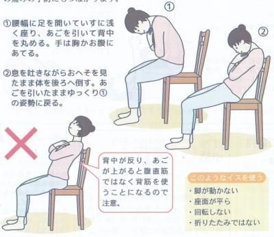 座ってできる筋肉貯金