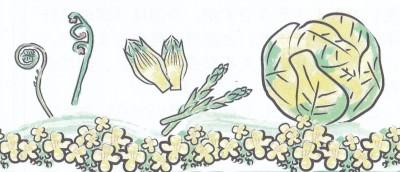 春野菜を味わおう